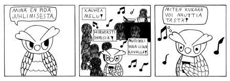 Sanna Sahlgren, Huhuiluja
