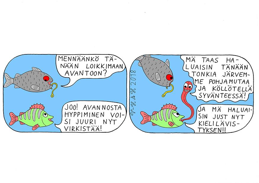 Vesa-Heikki Hietanen Kuplivaa elämää 17