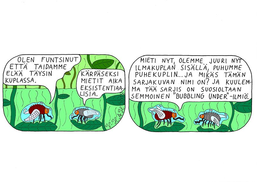 Vesa-Heikki Hietanen Kuplivaa elämää 19