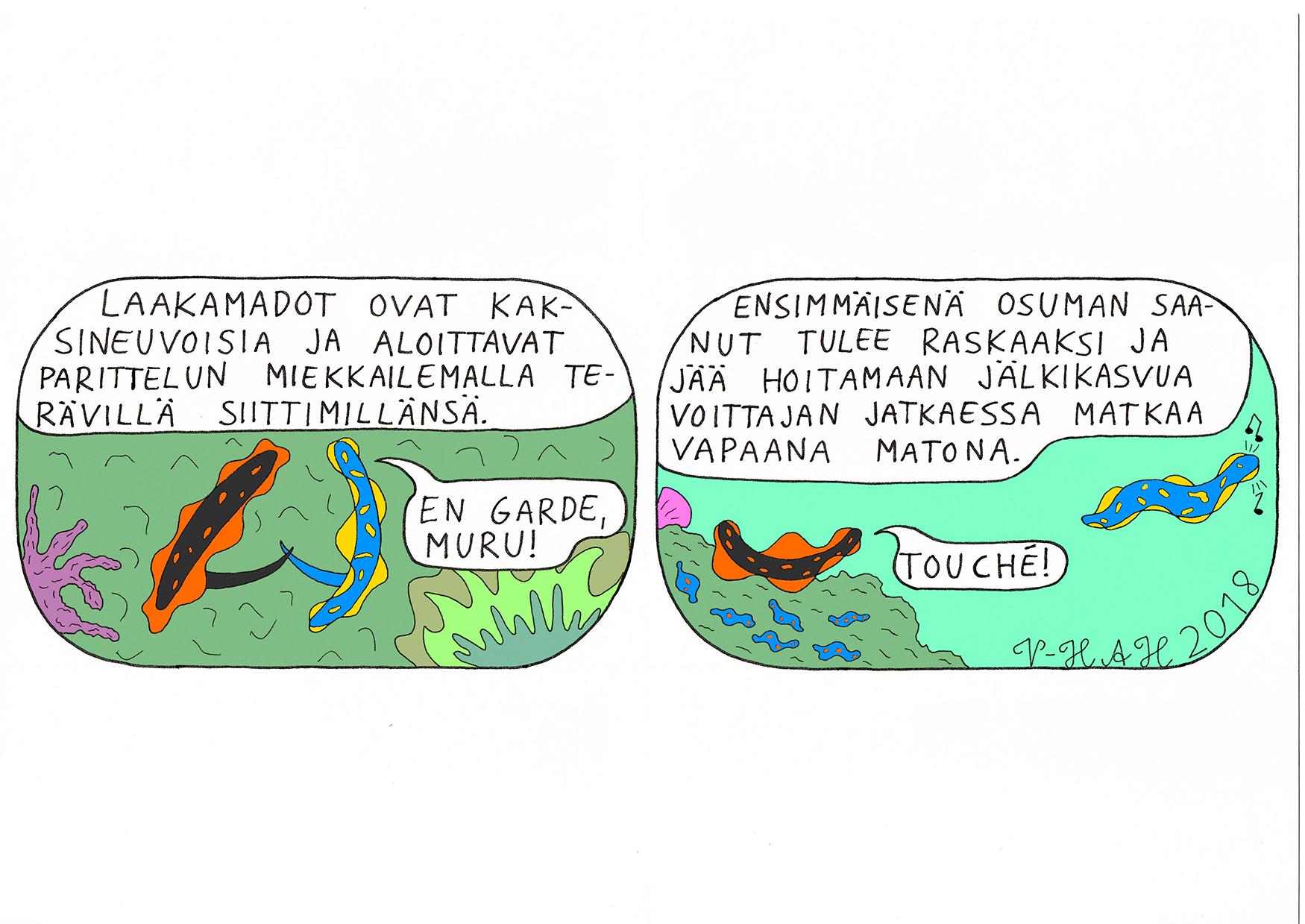 Vesa-Heikki Hietanen Kuplivaa elämää 29