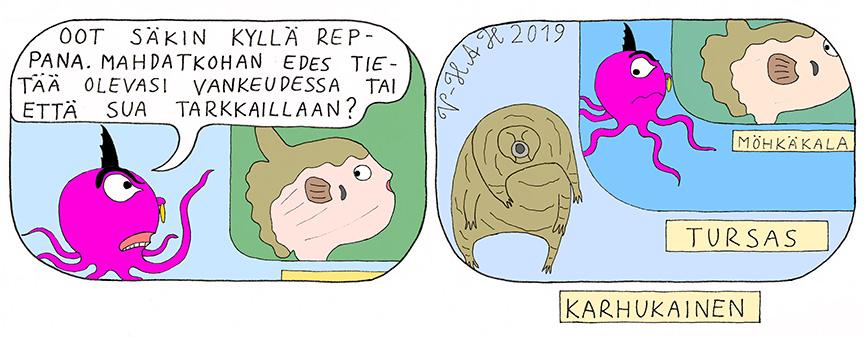 Vesa-Heikki Hietanen Kuplivaa elämää 221
