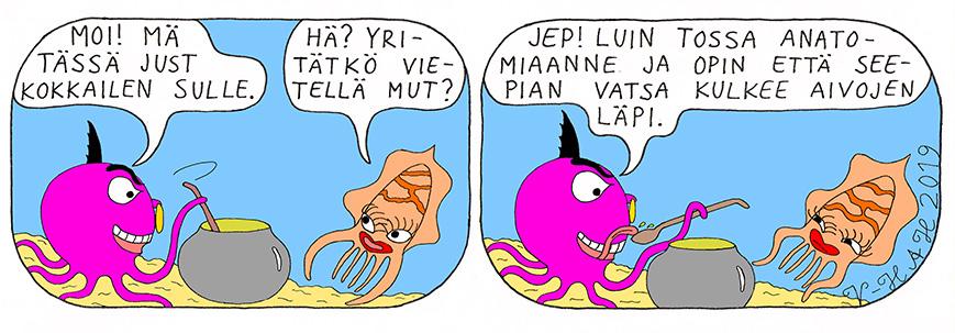 Vesa-Heikki Hietanen Kuplivaa elämää 222